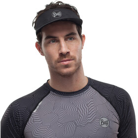 Buff Pack Run Visor reflective-solid black